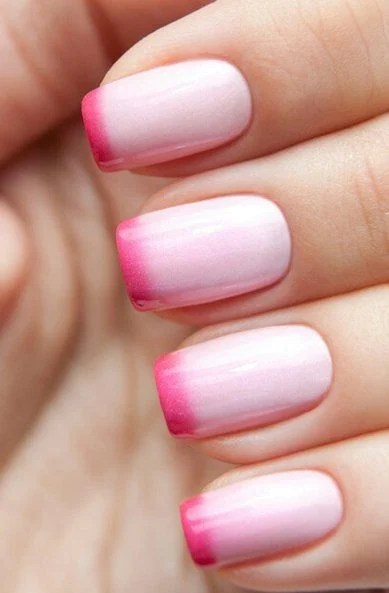 French Tip Nail Design 21