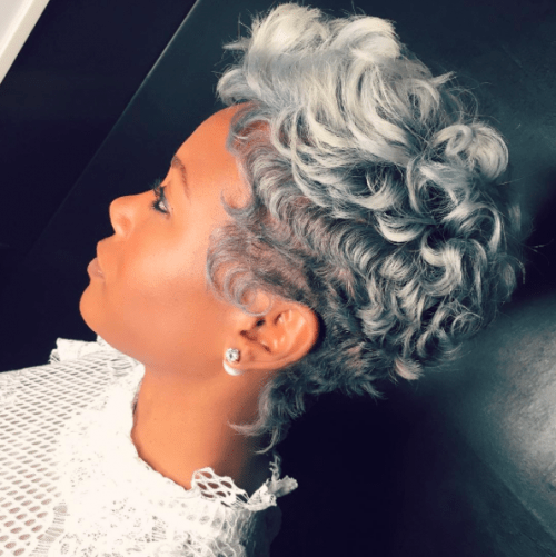 30 Short Curly Hairstyles For Black Women 1