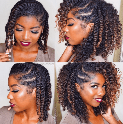 40 Twist Hairstyles for Natural Hair 2017  herinterestcom