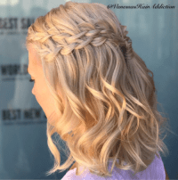 30 Braid Hairstyles for Medium Hair