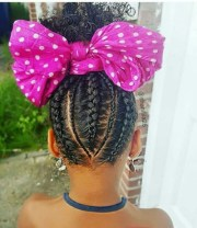 cute hairstyles black little