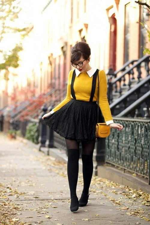 16 Cute Nerdy Outfits For Girls