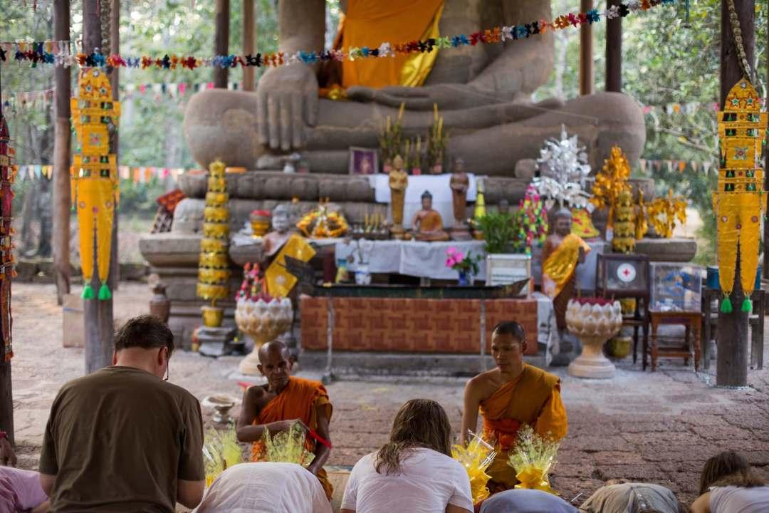 Monk blessing 7