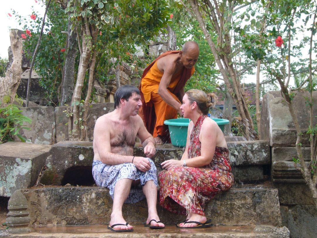 Monk blessing 1