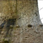 Looking up from below - The Podgill viaduct