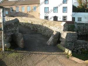Coffin stones at Frank's Bridge, Kirkby Stephen