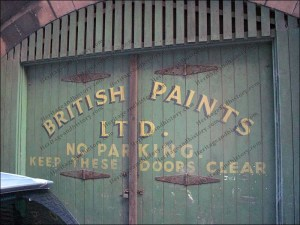 Ghost sign: British Paints, Carlisle