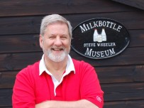 Steve Wheeler has been collecting milk bottles for about 30 years