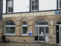 The former Martins Bank in Wigton, north Cumbria