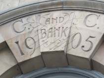 C and C Bank - 1905 - Better known as the Carlisle and Cumberland Bank