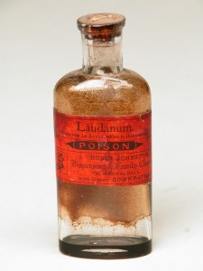 Laudanum bottle at Castle Ward, County Down [ID 835798]. Pic NT