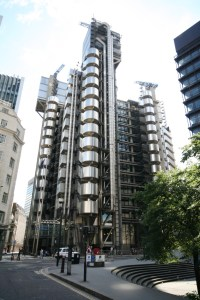 LLoyds Building, London. Pic English Heritage