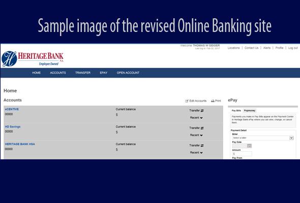 Online Banking Improvements Heritage Bankheritage Bank