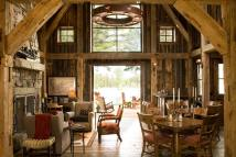Rustic Barn Home Interiors