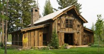 Rustic Barn Home House Plans
