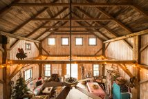 Rustic Barns Turned into Homes