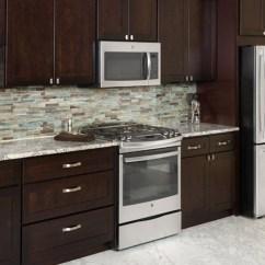 Quality Kitchen Cabinets Black Island Cart Espresso Shaker | Heritage Classic