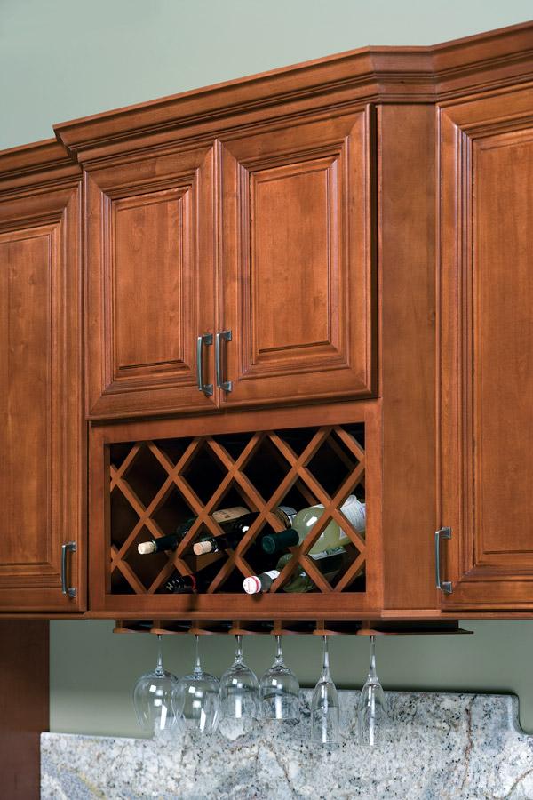 Wine Rack  Stem Glass Holder  Heritage Classic Cabinets