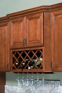 Wine Rack & Stem Glass Holder | Heritage Classic Cabinets
