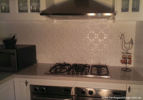 Pressed Metal Splashback Perth Diy Project