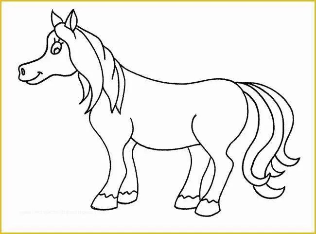 Free Horse Templates Of Printable Rocking Horse Template