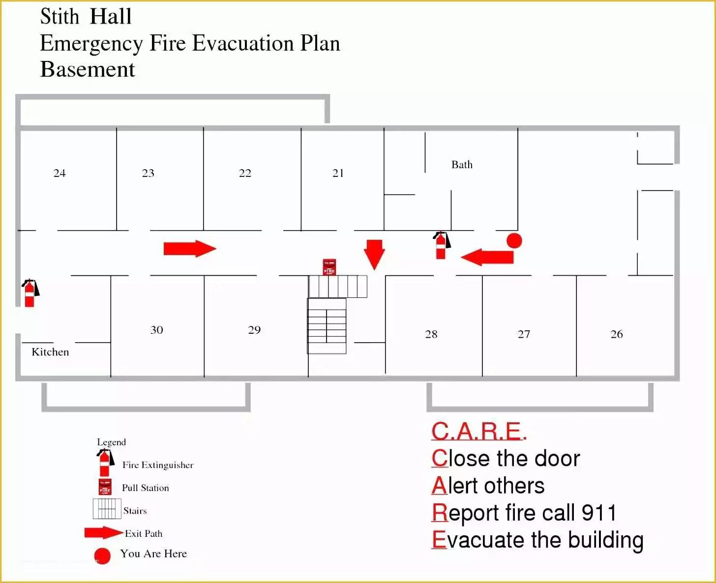 46 Free Printable Fire Escape Plan Template