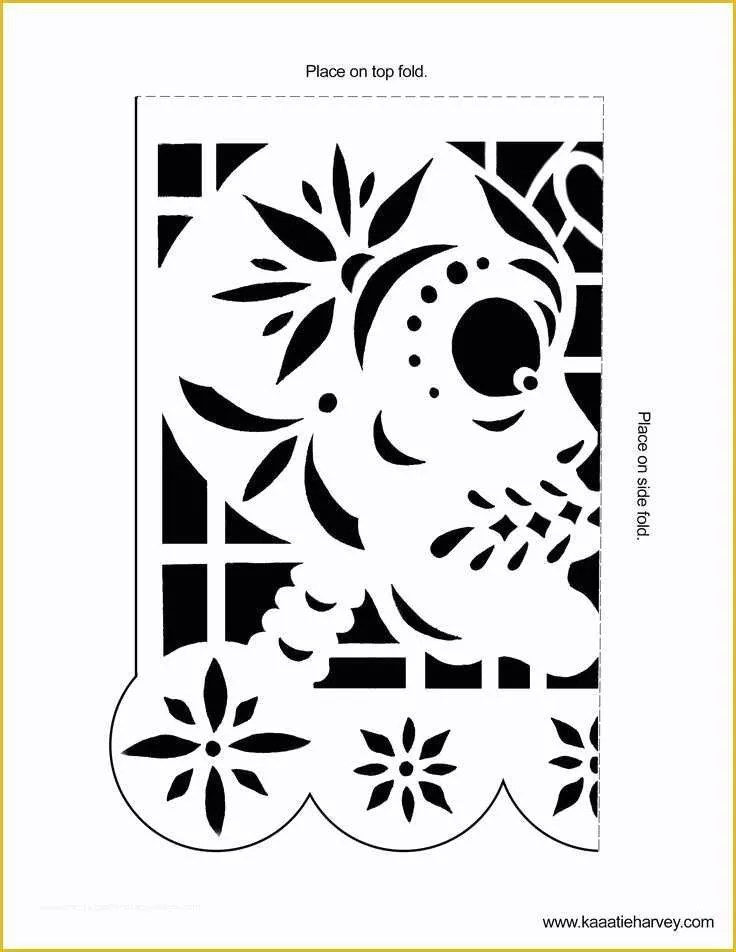 Free Printable Papel Picado Template Of Best 25 Papel