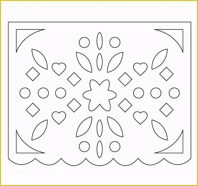Free Printable Papel Picado Template Of How to Make Easy