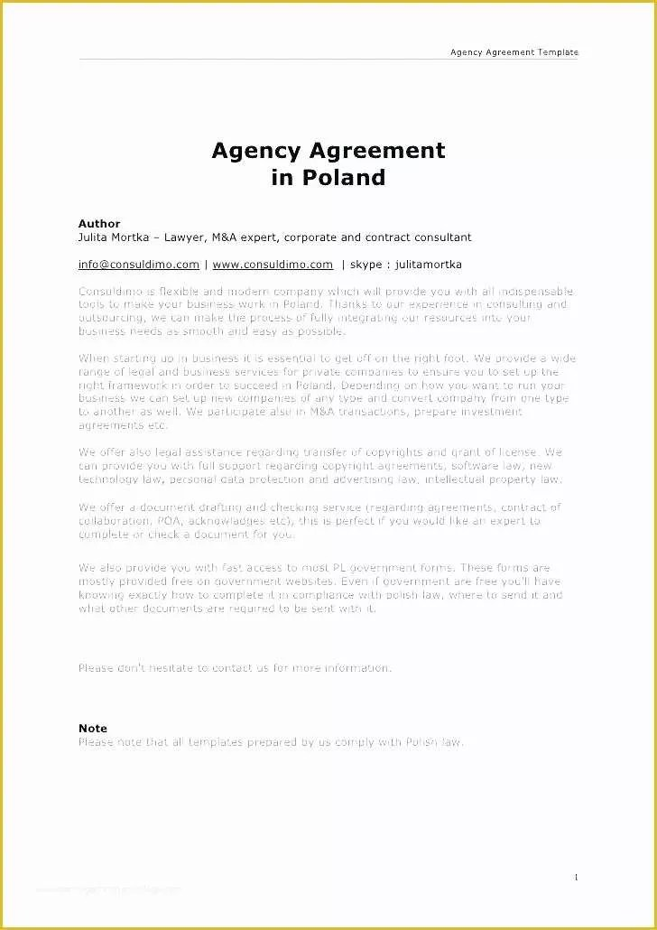 Free Service Agreement Template Australia Of Free Legal