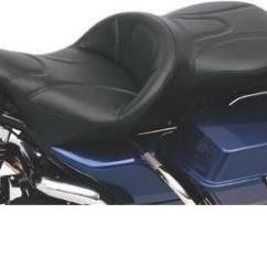 Road Sofa Seat Goldwing Who Makes The Maxwell For Restoration Hardware Hcw Saddlemen Deluxe Touring 1997 2007 Flhr 2006 Flhx