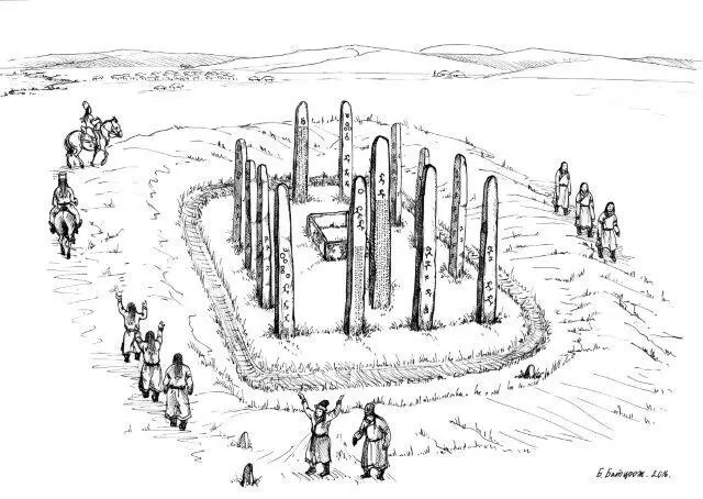 Ancient Turkic monument complex discovered in Mongolia