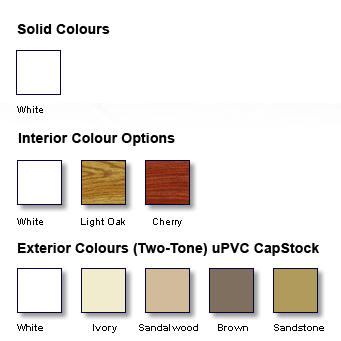 Window Colour Options - Heritage Home Design