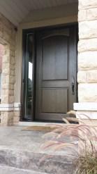 8' tall fibreglass door