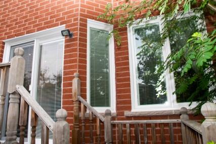Back door windows