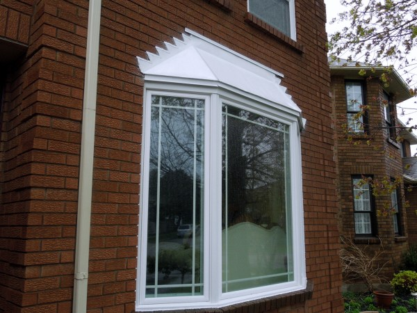 Post renovation - Bow window