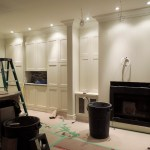 Cupboards and lighting