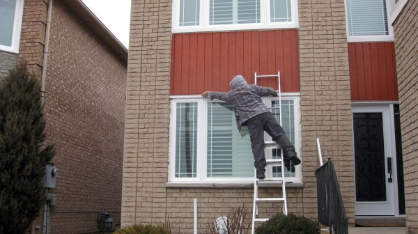 Installers at work