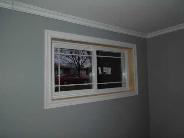 New window installation