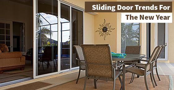 Sliding Door Trends