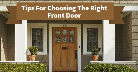 Choosing Front Door