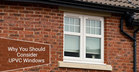 Modern UPVC Double Glazed Window Unit