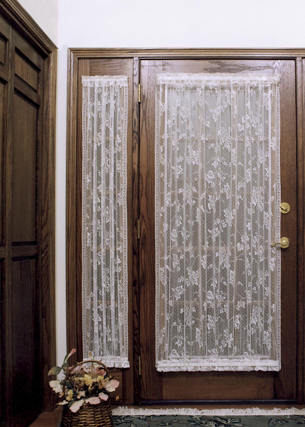 Velcro french door curtain panels - Side Panel Curtains For Doors Bestcurtains