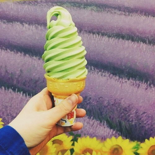 Best Ice Cream in Ohio - Belles Bread Matcha Soft Serve