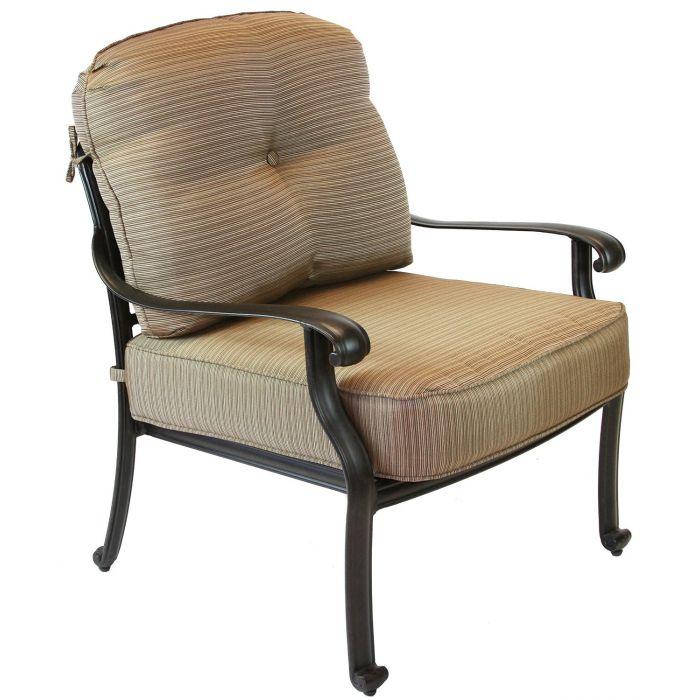 patio club chair tulle sash elisabeth cast aluminum deep seating antique 1 2 83 jpg
