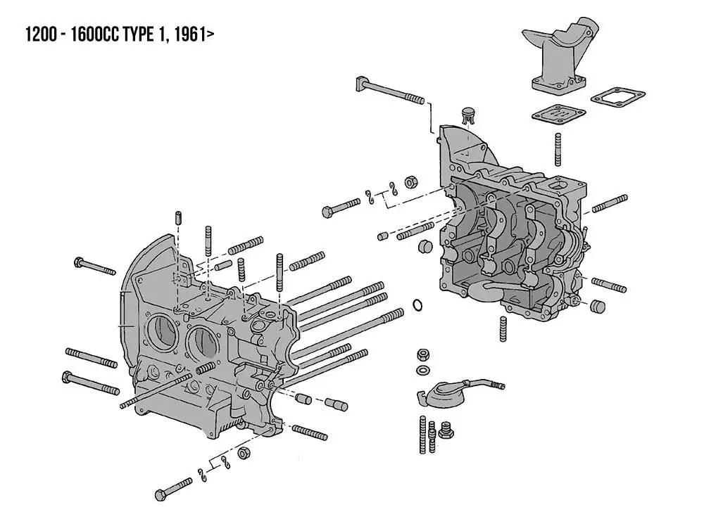 Vw Bug Engine Tin Diagram : Vw Baywindow Bus Thermostats