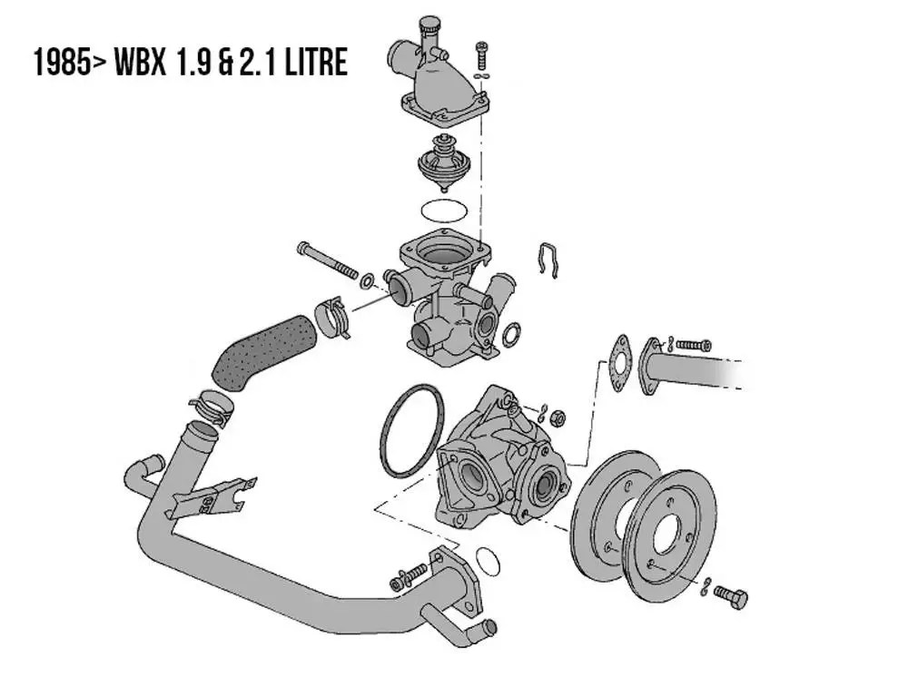 VW Type 25 Cooling System