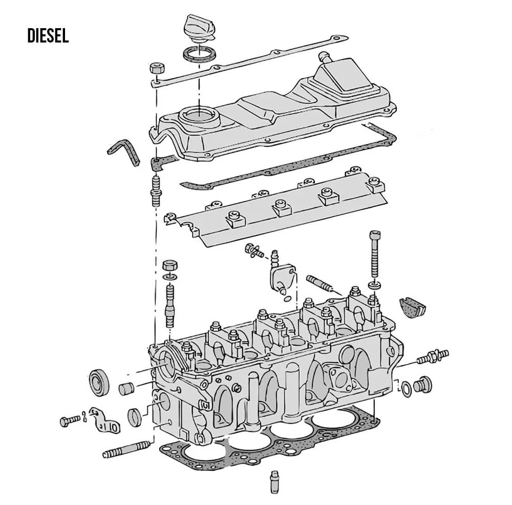 VW Type 25 Engines & Engine Parts