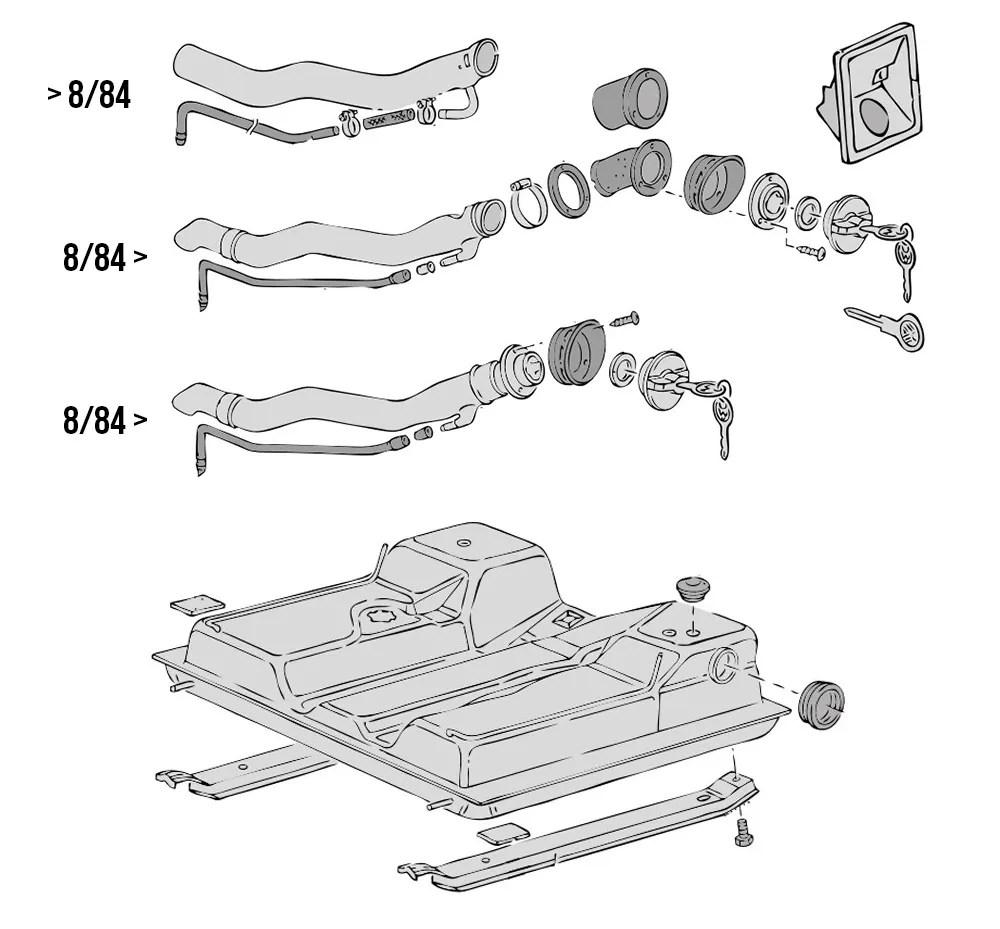 VW Type 25 Fuel & Induction Parts