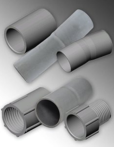 Pvc couplings and adapters also heritage plastics conduit rh heritageplastics