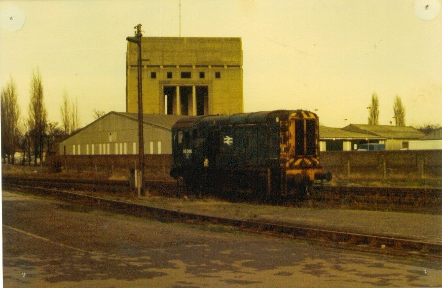 Train Near Spalding Station 1970's